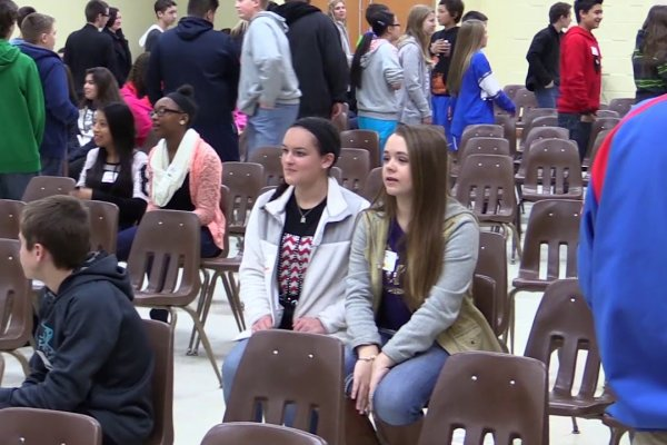 8th Grade Career Day 2016 Image