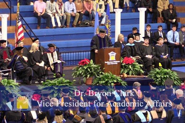 Southeastern Oklahoma University Fall 2018 Morning Ceremony Image
