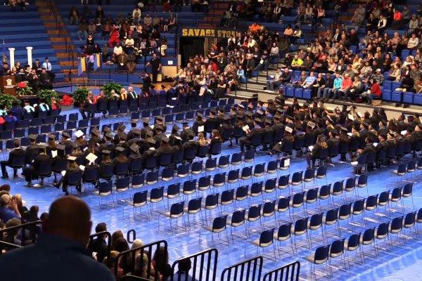 Southeastern Oklahoma University Fall 2018 Afternoon Ceremony Image
