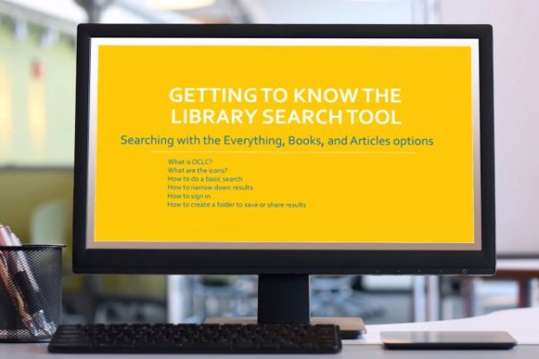 The OCLC Search Tool