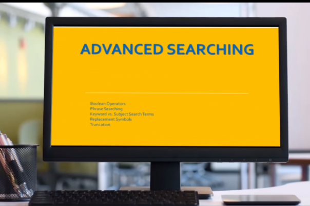 Advanced Search Overview