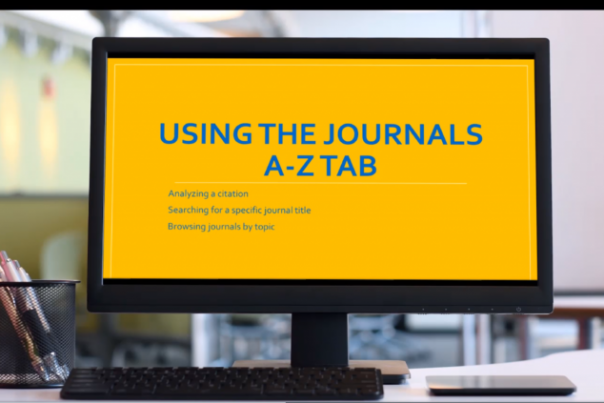 Searching With Journals A-Z