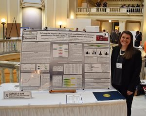 Gabrielle Ford represents Southeastern at Research Day Thumbnail