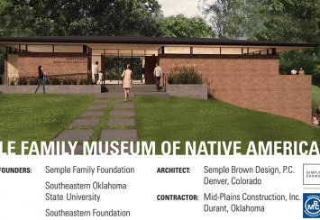 Semple Family Museum of Native American Art to be constructed at Southeastern Thumbnail