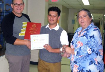 Sergio Vazquez Gomez Named Top   General Chemistry Student for 2019 Thumbnail