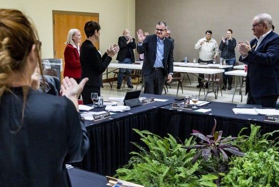 RUSO resolution honors President Burrage Thumbnail