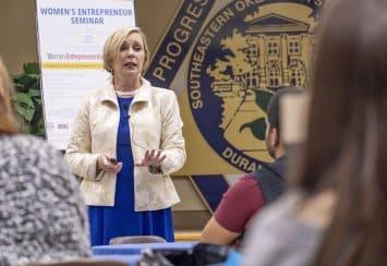 Women's Entrepreneur Seminar held at Southeastern Thumbnail