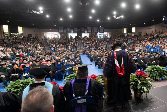 2019 Fall Commencement Thumbnail