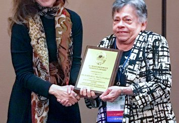 Dr. Barbara McClanahan of Southeastern receives service award from national literacy organization Thumbnail