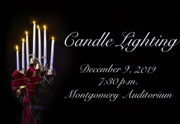 Candlelighting Scheduled for December 9 Thumbnail