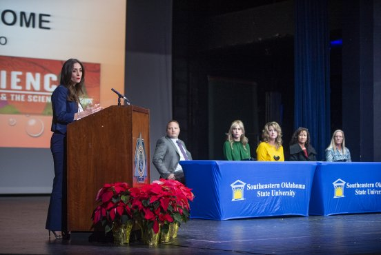 First Lady of Oklahoma visits Durant, Southeastern Thumbnail
