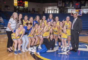 Women's Basketball Team Claims GAC Championship Thumbnail