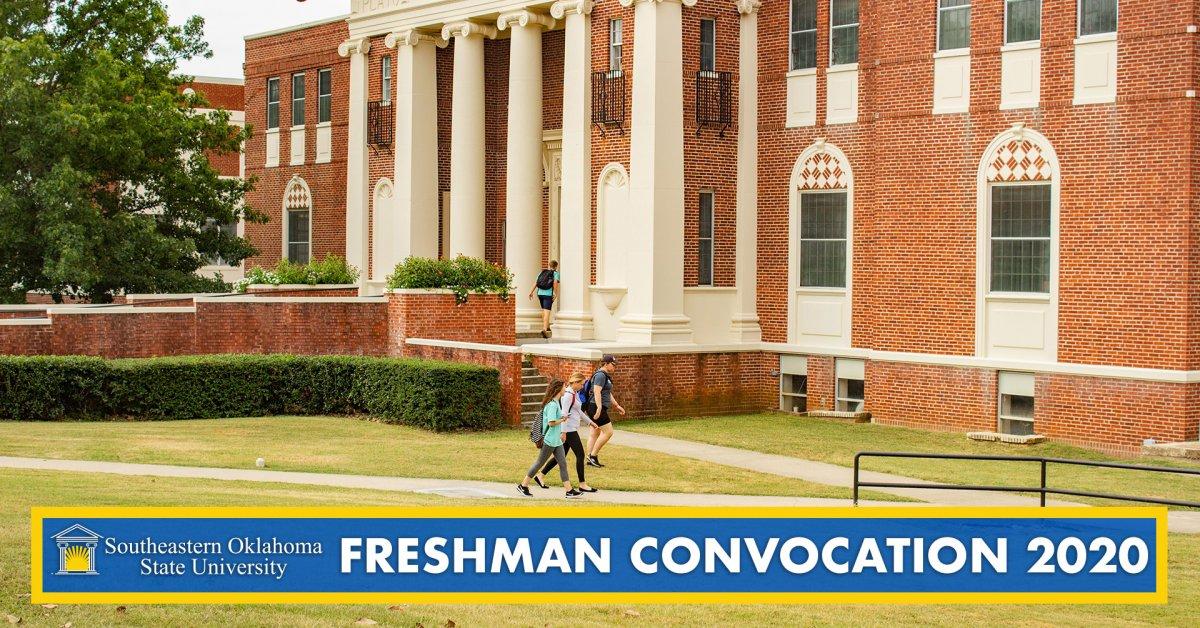 Freshman Convocation 2020 banner