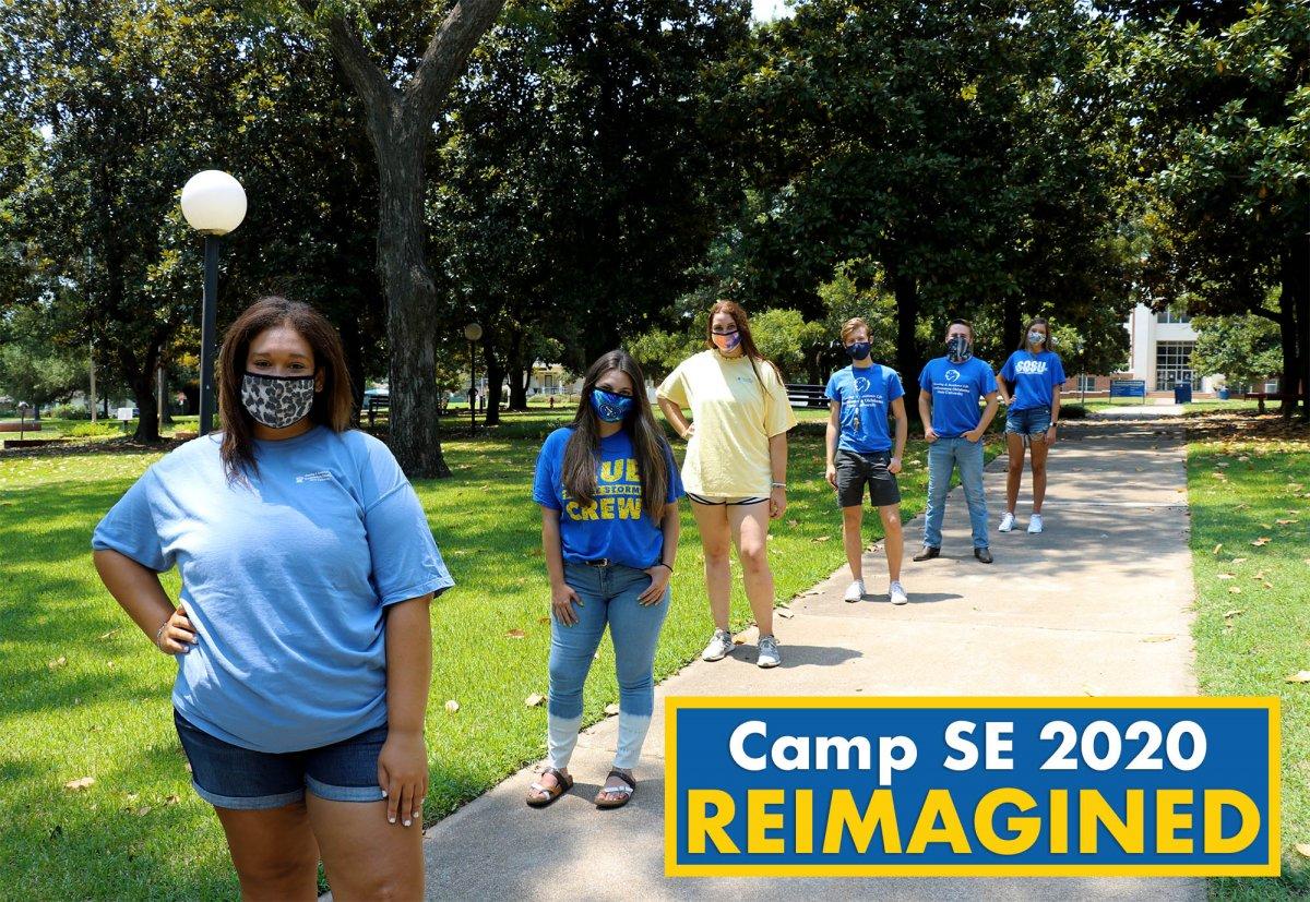 Camp SE 2020 Reimagined banner