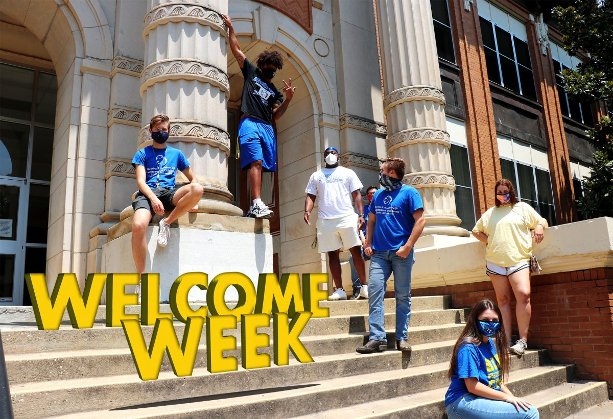 Welcome Week at Southeastern banner