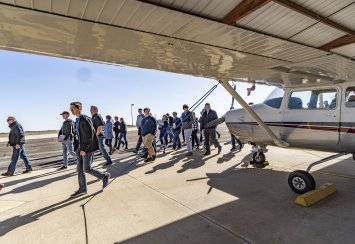Southeastern receives $6,500 Aerospace and Aviation Education grant for summer flight camp Thumbnail