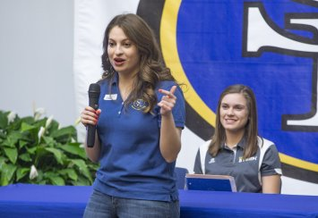 Student Government president Anna Antuono embraces role as campus leader Thumbnail