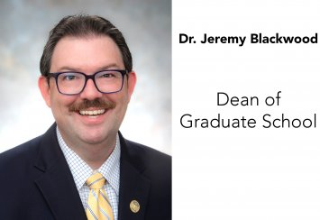 Dr. Jeremy Blackwood named Dean of the Graduate School Thumbnail