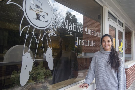 Heavener freshman follows in footsteps of sisters to Southeastern while assuming Native American leadership role Thumbnail