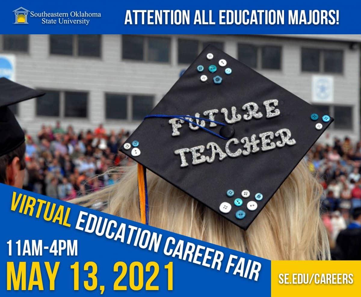 Virtual Education Career Fair banner