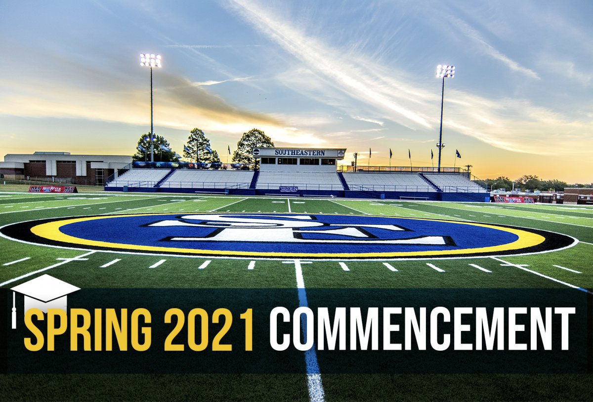 Spring 2021 Commencement banner