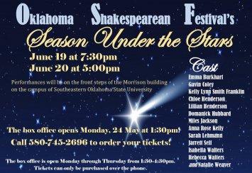 Oklahoma Shakespearean Festival's Season Under the Stars Thumbnail