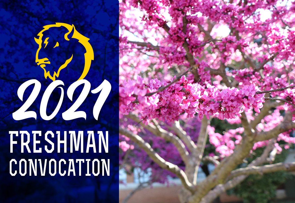 Freshman Convocation 2021 banner