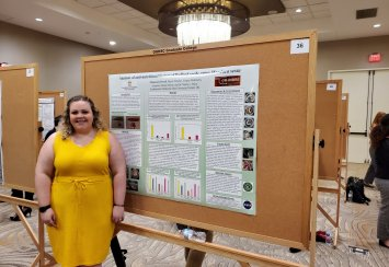 Two students represent Southeastern at OU-Health Sciences Center event Thumbnail