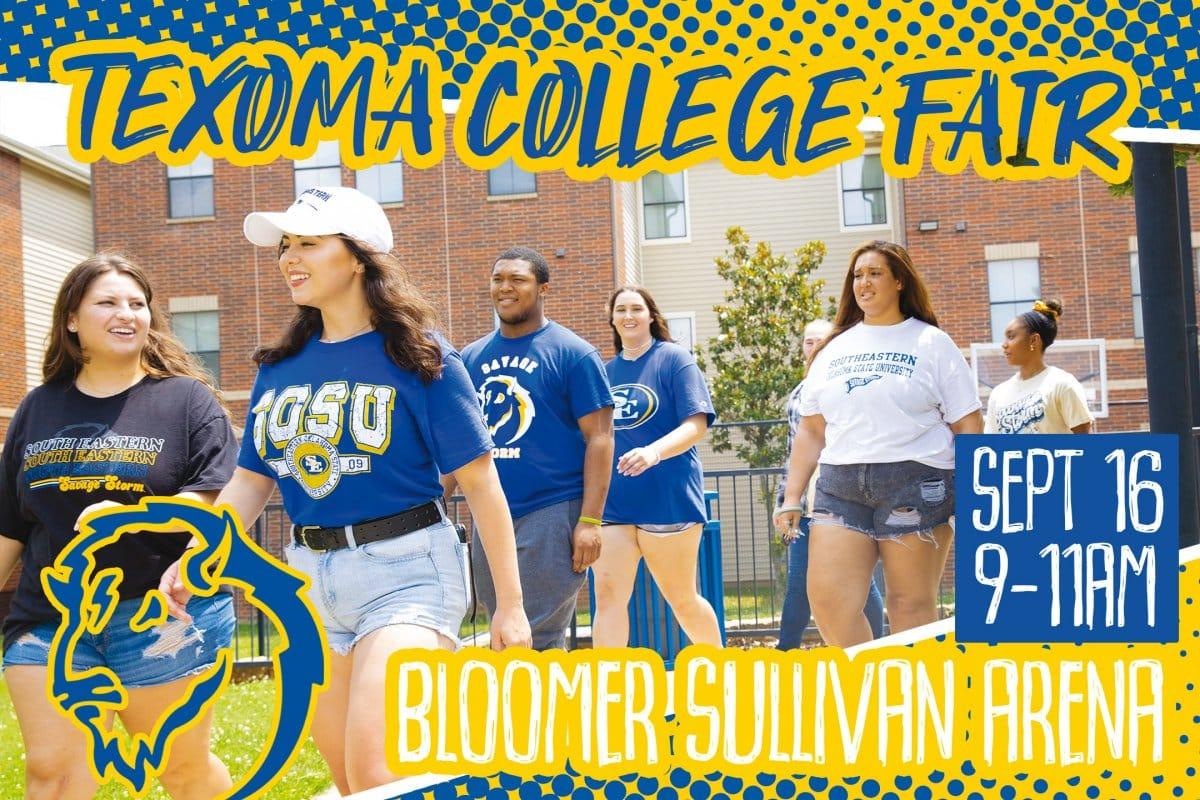 Texoma College Fair banner