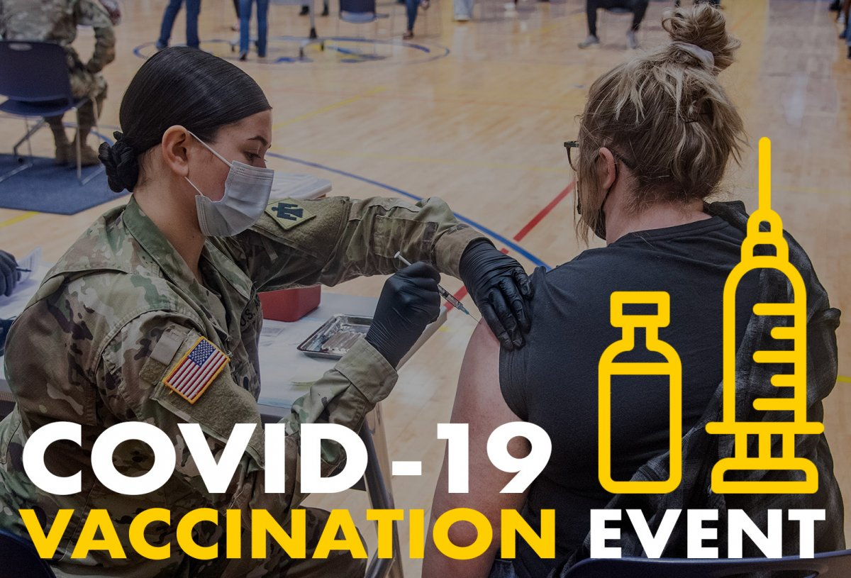 COVID-19 Vaccination Event banner
