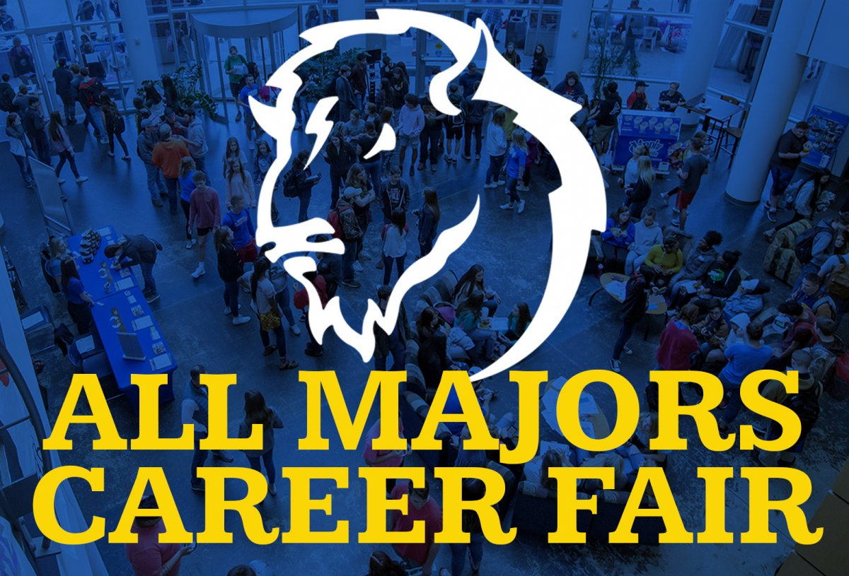 All Majors Career Fair banner