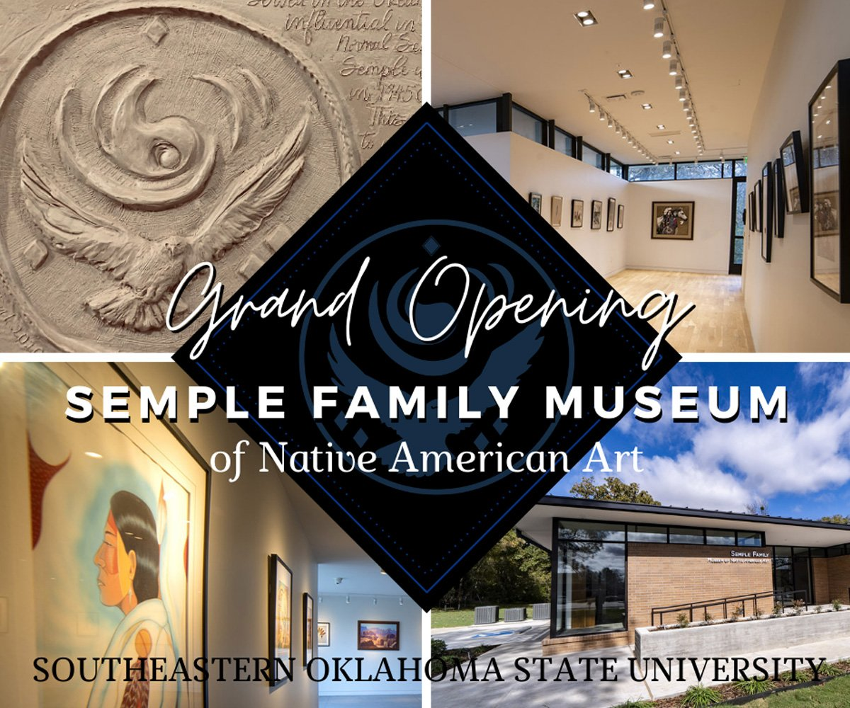 Semple Family Museum of Native American Art – Grand Opening banner