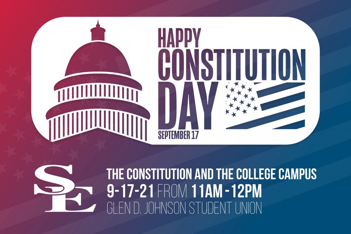 Constitution Day at SE banner