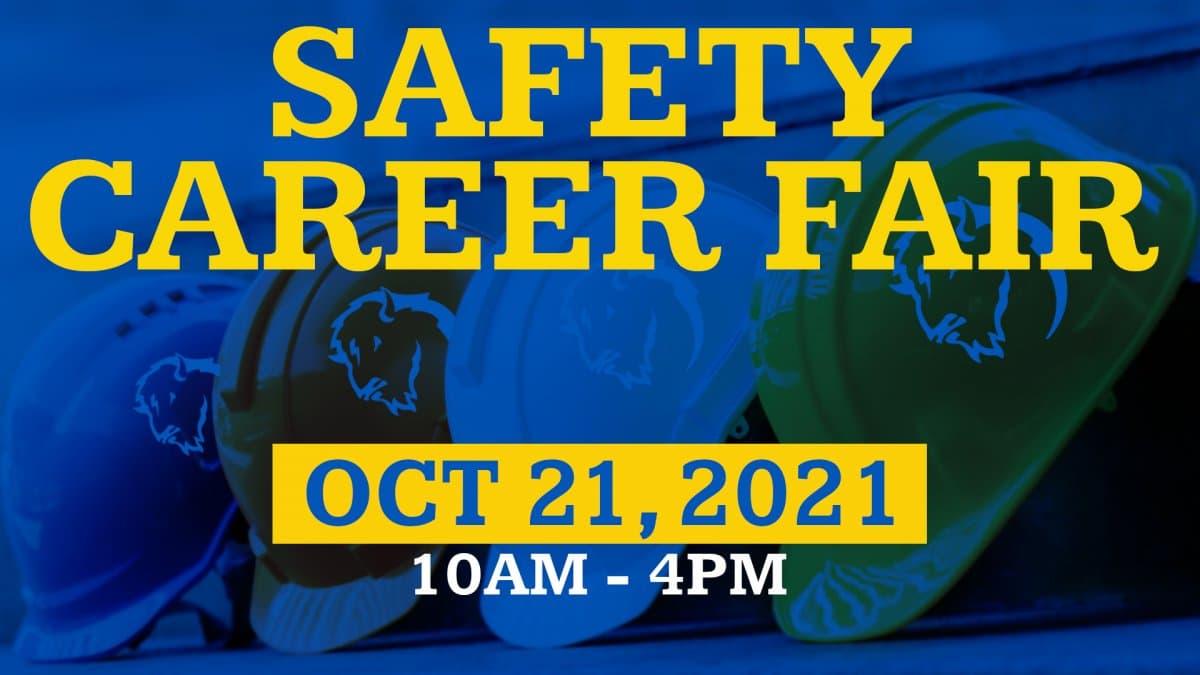 Safety Career Fair banner