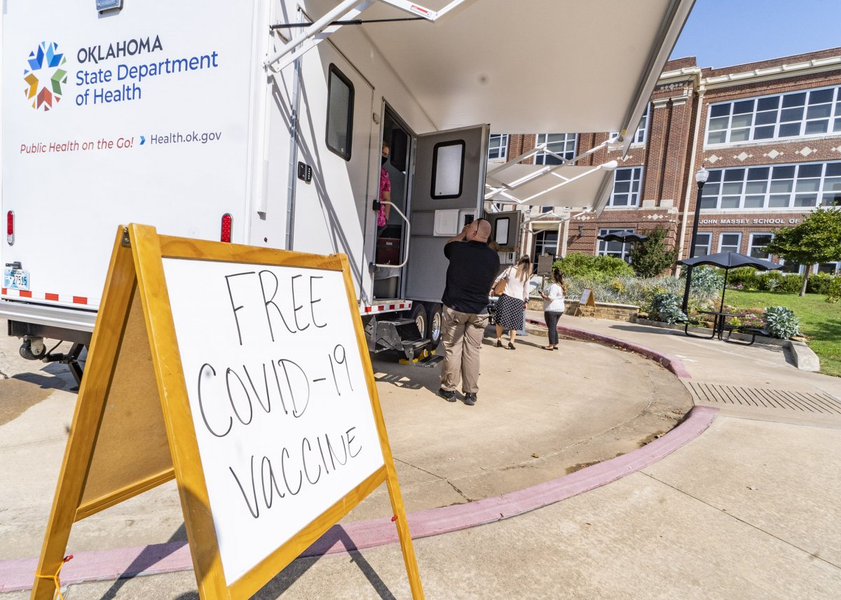 Free COVID-19 vaccinations offered on Southeastern campus Sept. 22 banner